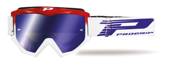 Goggle 3201-130 FL Red / White