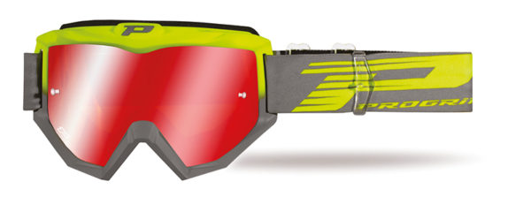 Goggle 3201-347 FL fluorescent yellow / gray