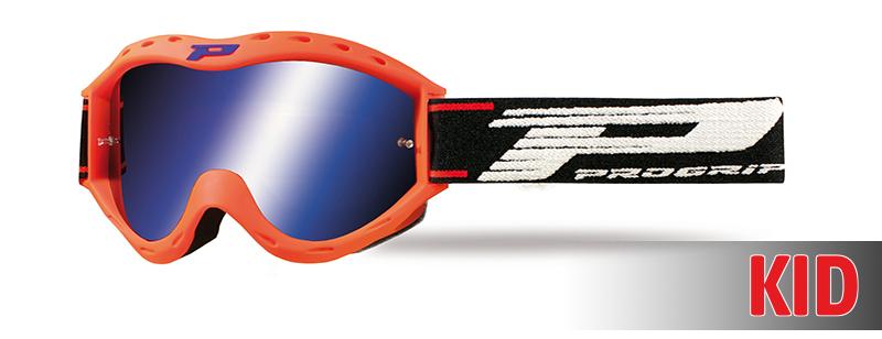 Maschera 3101-156 FL arancione fluo opaco