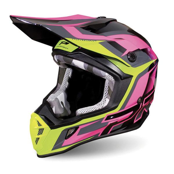 Helmet 3180-196 black / fuchsia