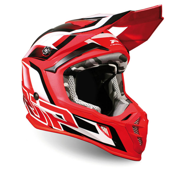Helmet 3180-130 Red White