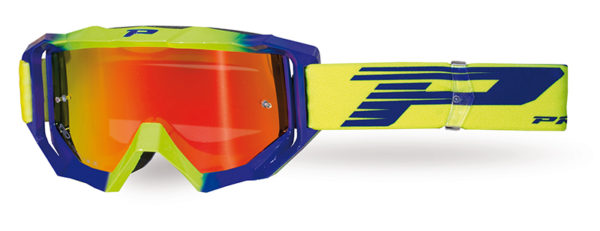 Goggle 3200-325 FL fluorescent yellow / electric blue