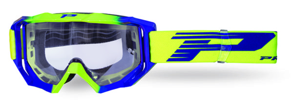 Goggle 3200-325 TR fluorescent yellow / electric blue