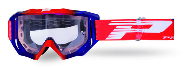 Goggle 3200-197 TR red / blue