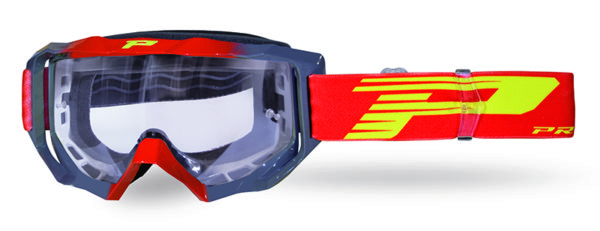 Goggle 3200-337 TR red / gray