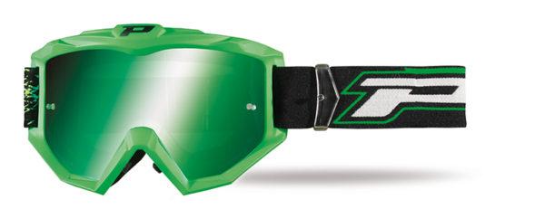 Goggle 3204-306 FL verde fluo Opaco