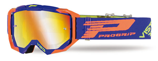 Goggle 3303-272 FL blue / orange fluo