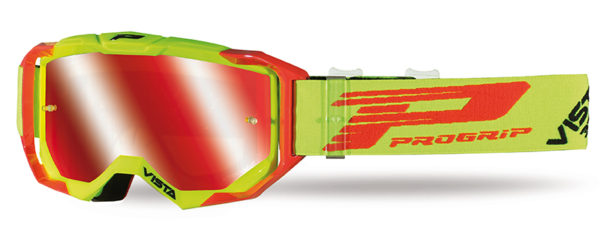 Goggle 3303-273 FL fluorescent yellow / red