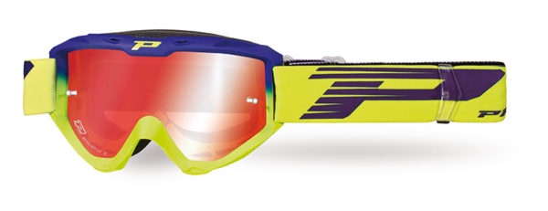 Goggle 3450-264 FL electric blue / fluorescent yellow