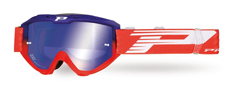 Maschera 3450-338 FL blu/rosso