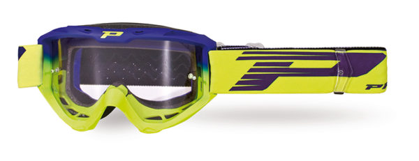 Goggle 3450-264 TR electric blue / fluorescent yellow