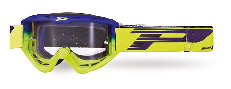 Maschera 3450-264 TR blu elettrico/giallo fluo