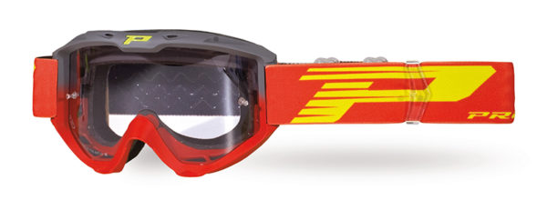 Goggle 3450-288 LS gray / red