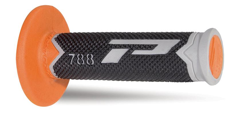 Mx Grips 788-211 grigio/nero/arancione