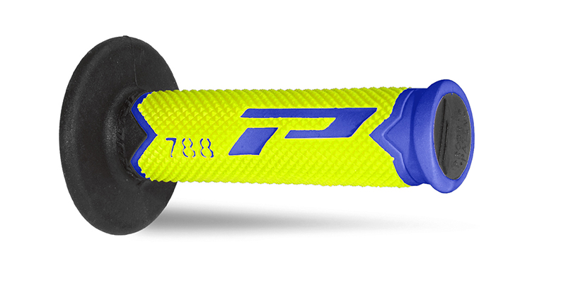 Mx Grips 788-279 blue / fluorescent yellow / black