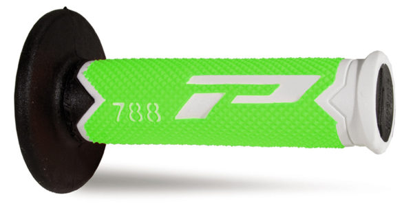 Mx Grips 788-301 bianco/verde fluo/nero