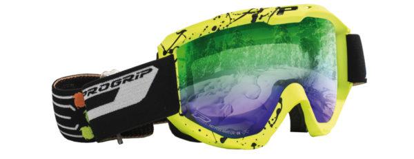Snow Goggles 3460-164 giallo fluo