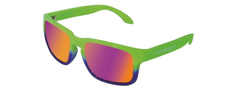 Occhiali da sole 3605-267 verde fluo/blu