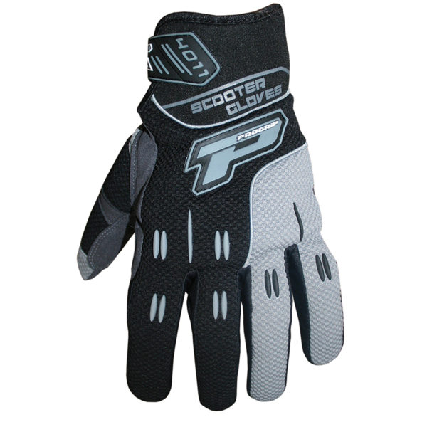 Summer Scooter Gloves 4011 nero/grigio