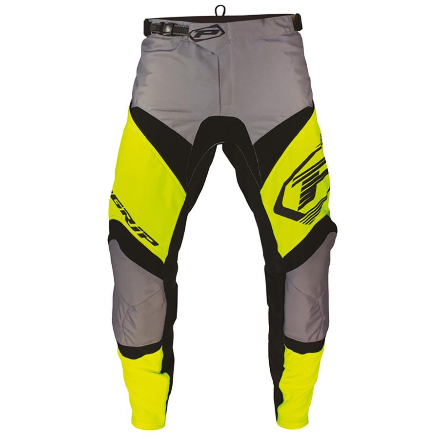 Pantalone 6010-343 giallo fluo/nero/grigio